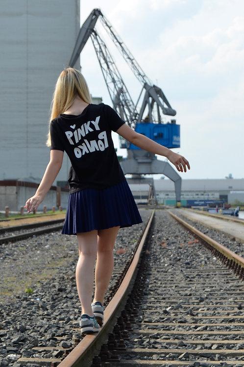 T-Shirt // Pinky Ponko Backpiece