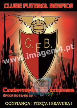 Caderneta de Cromos CF Benfica 2