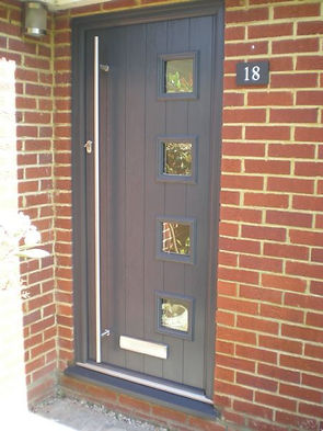 Milano Solidor Anthracite Grey Window Medic Essex