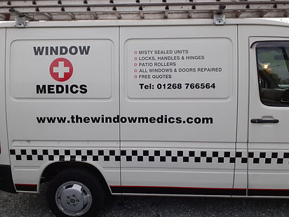 WINDOW MEDIC VAN WICKFORD ESSEX