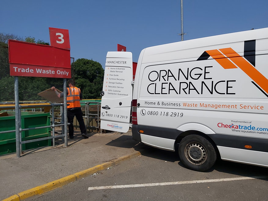 Waste Removal in Leeds by Orange Clearance Limited Company