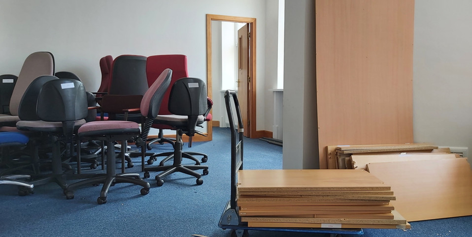 Safe and quick office clearance in Harrogate by Orange Clearance company