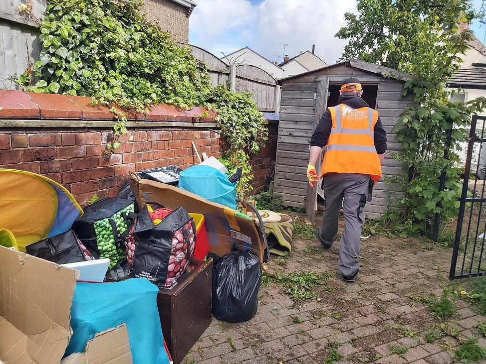 Garden Waste Removal in Leeds by Orange Clearance Ltd