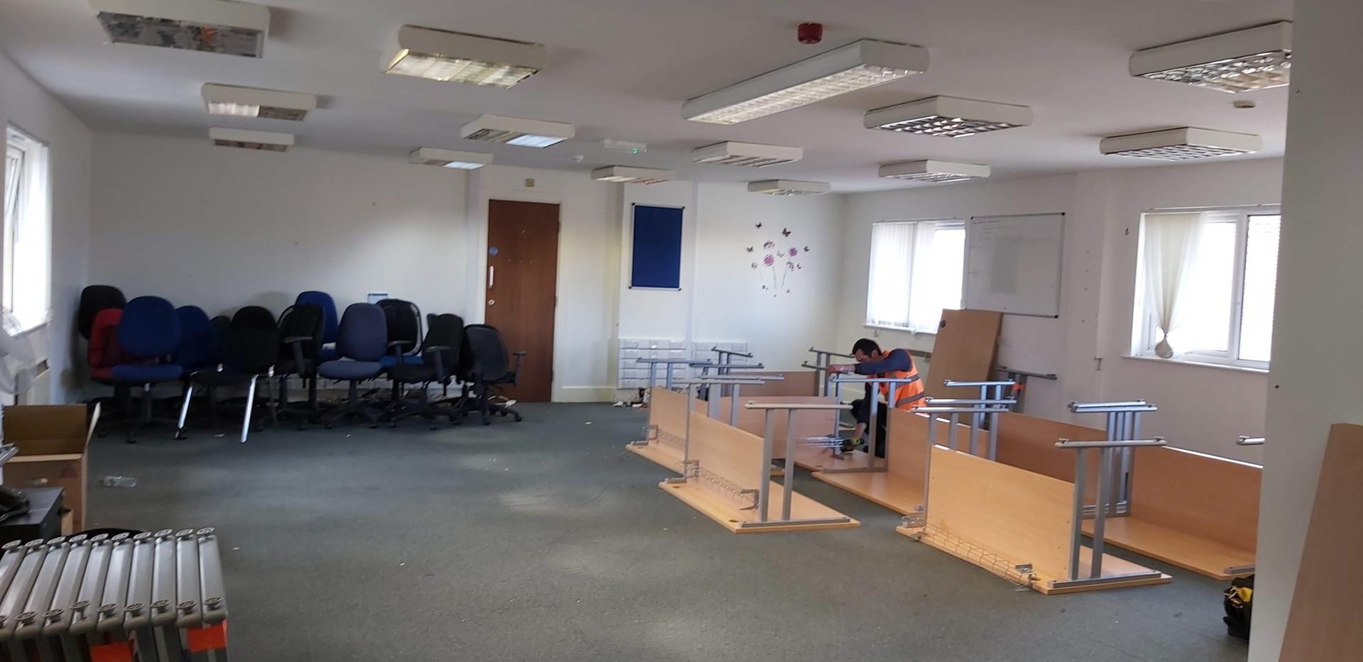 Office Clearance Project in Birkenhead