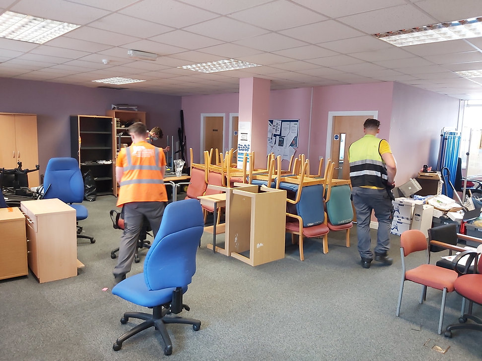 office rubbish removal in Leeds