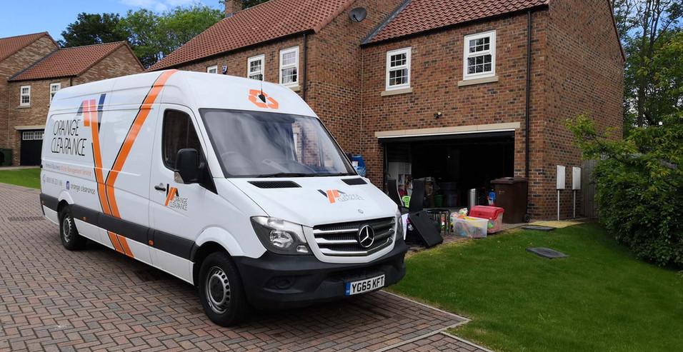 Orange Clearance Limited Van