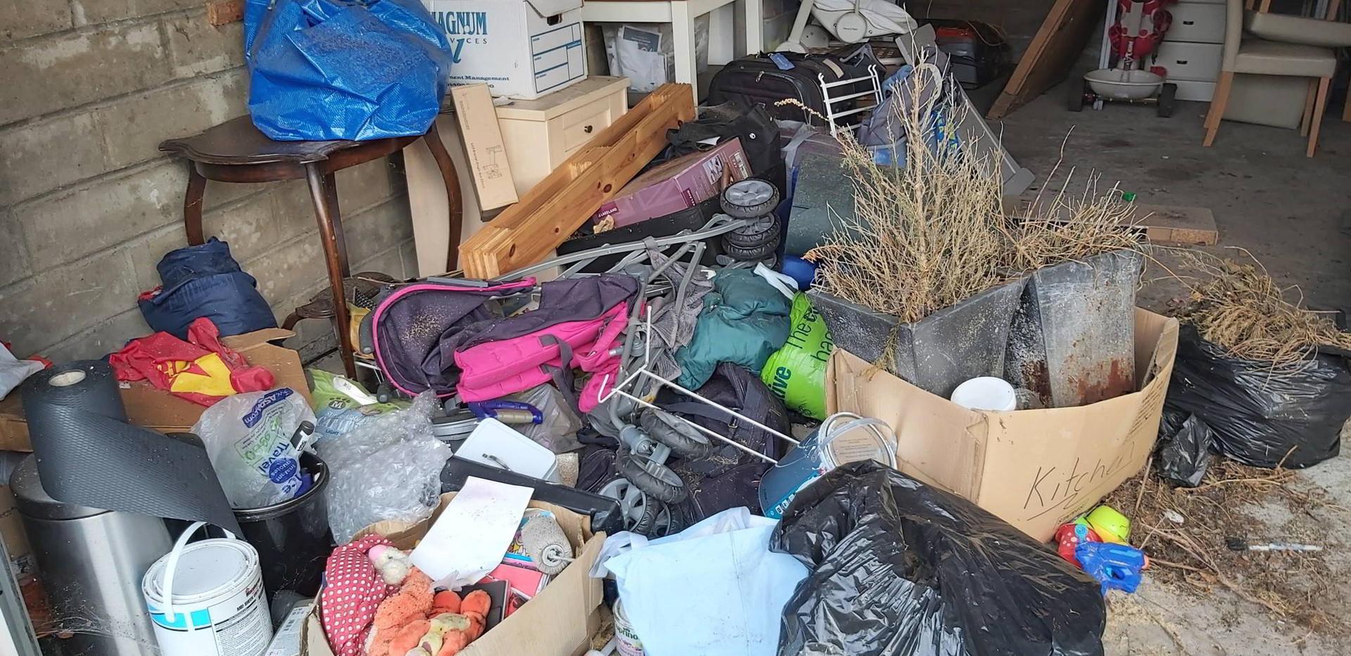 Garage Rubbish removal