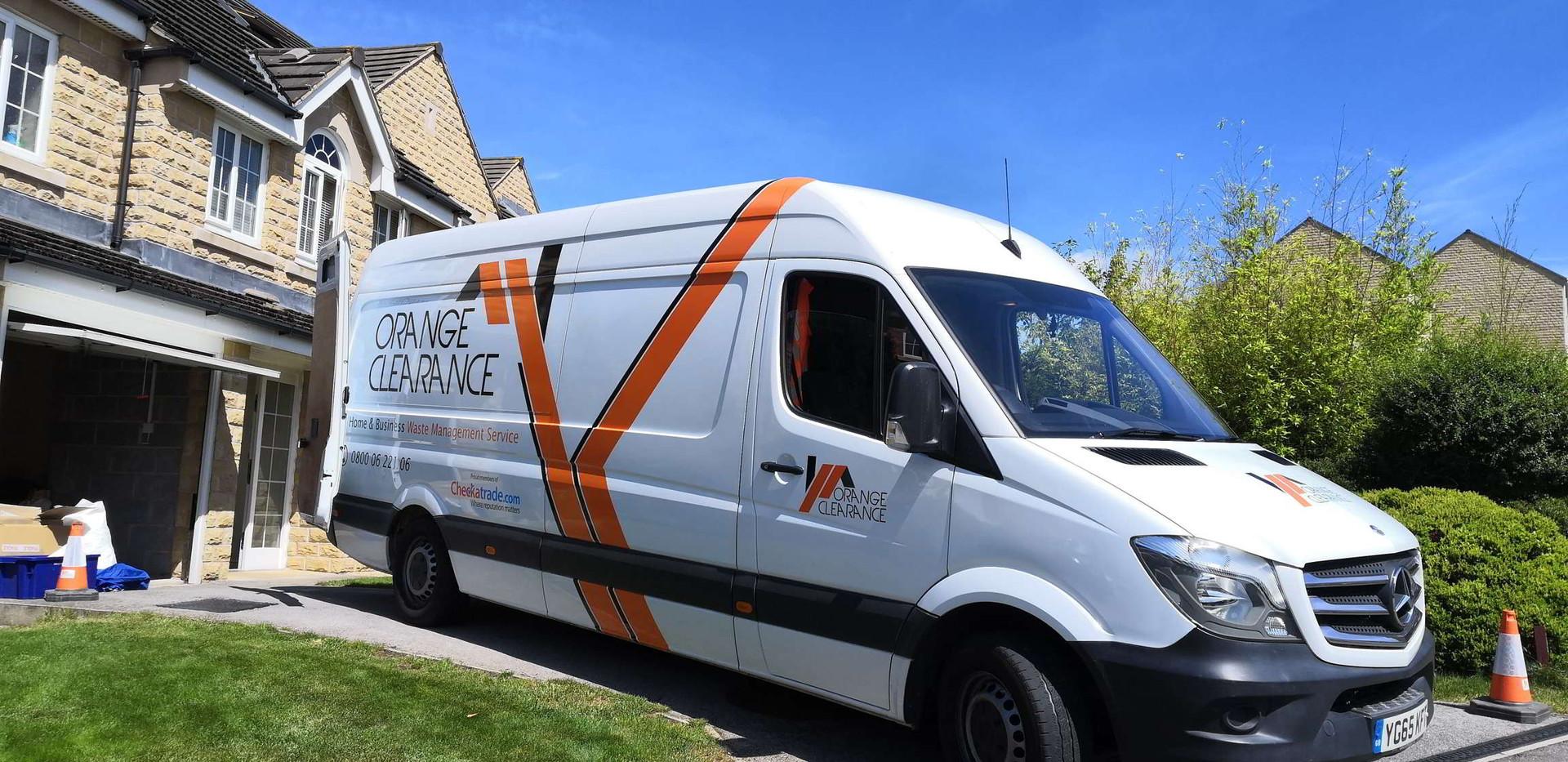 Orange Clearance safe parking