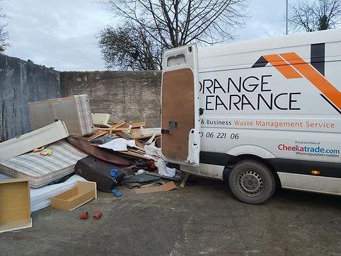 Rubbish disposal at Leeds Kirkstall