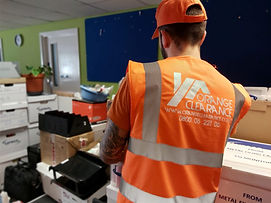 Safe office rubbish removal services in