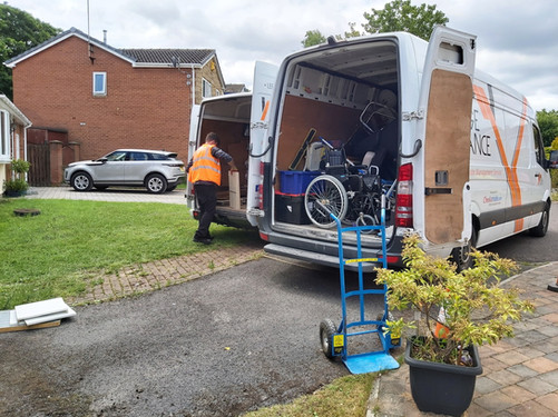 Junk removal in Leeds by Orange Clearance Limited Company
