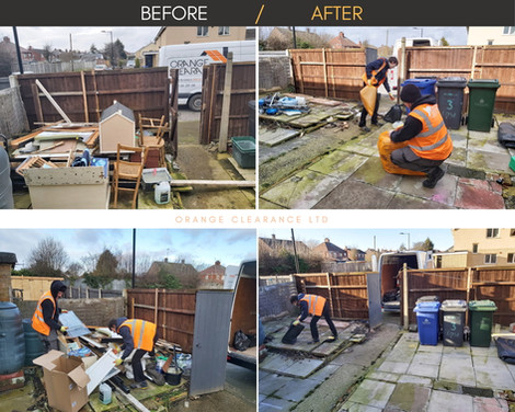 House Clearance by the Orange Clearance Company in West Yorkshire