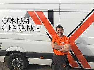 Orange Clearance Limited at work.