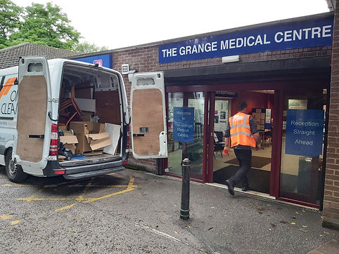 General Practice in Leeds waste removal by Orange Clearance limited
