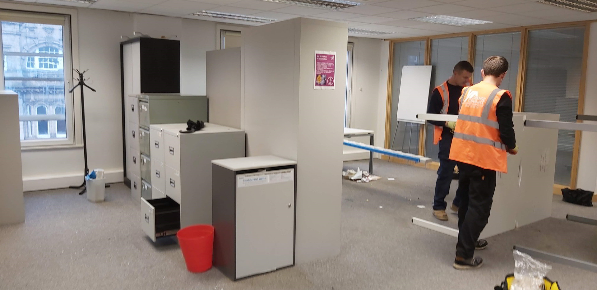 Office Clearance Project at Duncan House