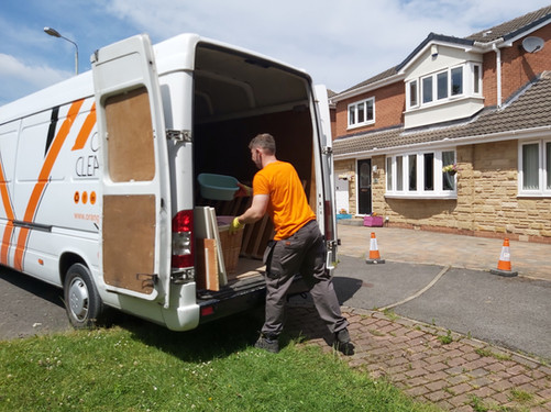 Rubbish Clearance in Leeds by Orange Clearance Limited Company