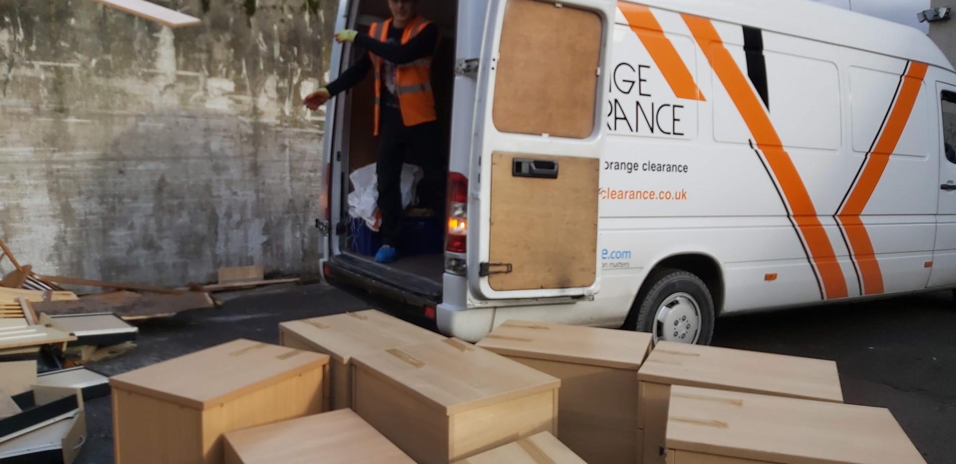 Business furniture disposal in Kirkstall