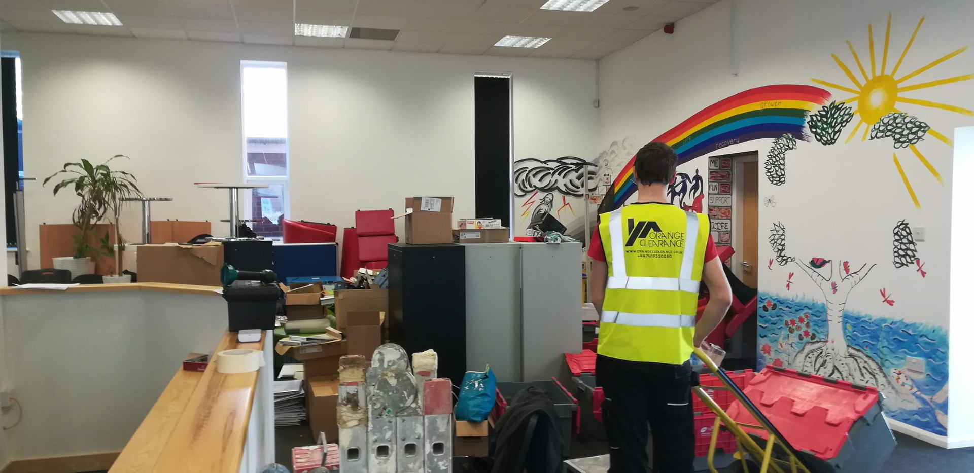 Office Clearance project in Newark