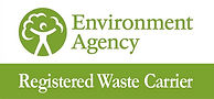 Orange Clearance Environment Agency Registered Waste Carier Logo.