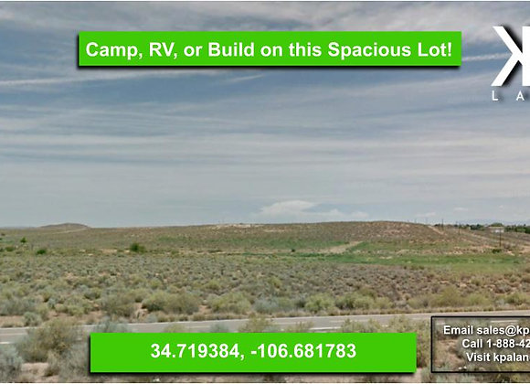.25 Acre in Los Lunas, NM!