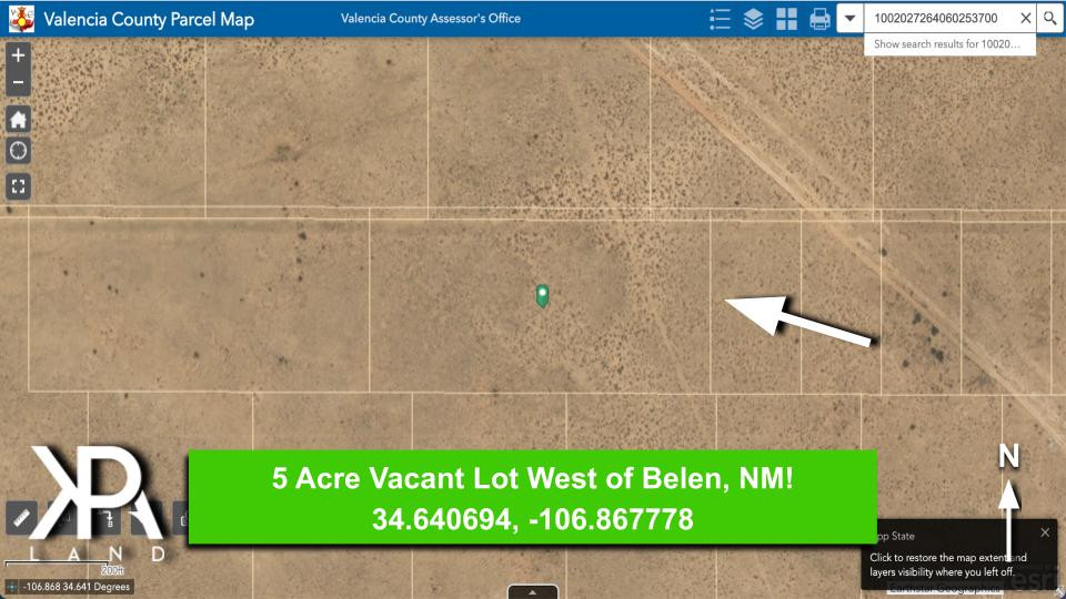 McCauley 5 Acre Lot Point Out County Map
