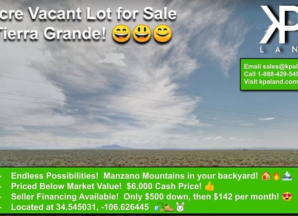 5 Acre Vacant Lot East of Belen, NM! #4