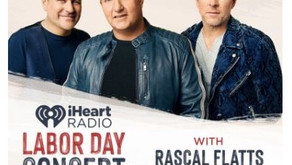 Rascal Flatts To Star In iHeartRadio's Labor Day Special.