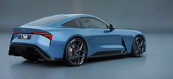 TVR Griffith Blue 3