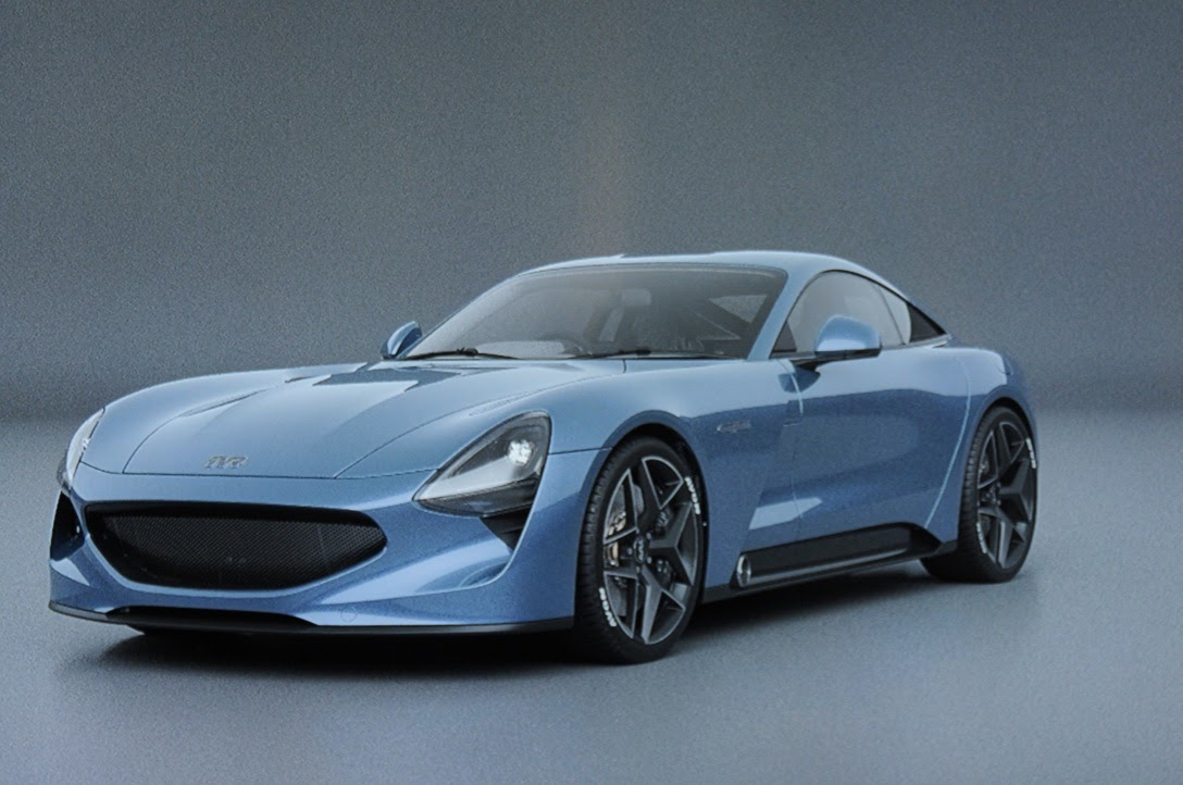 TVR Griffith Blue 2