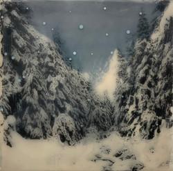 Midnight Snowshoe, Mt. Seymour