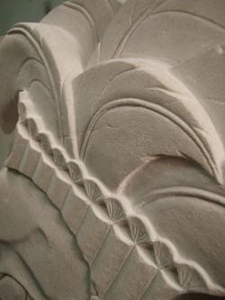 Mayan Feather Detail