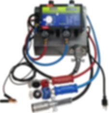 Revtronik - TestTronik - édition 12 pied Kit Argent avec télécomman a écran au LED