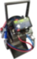 Revtronik - TestTronik - édition Argent sur Chariot avec télécommande a écran au LED
