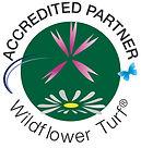LOGOWildflowerTurfAccreditedPartnerCircu