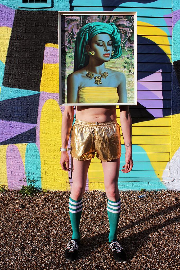 Art Drag Album (Nigel as The Balinese Girl)