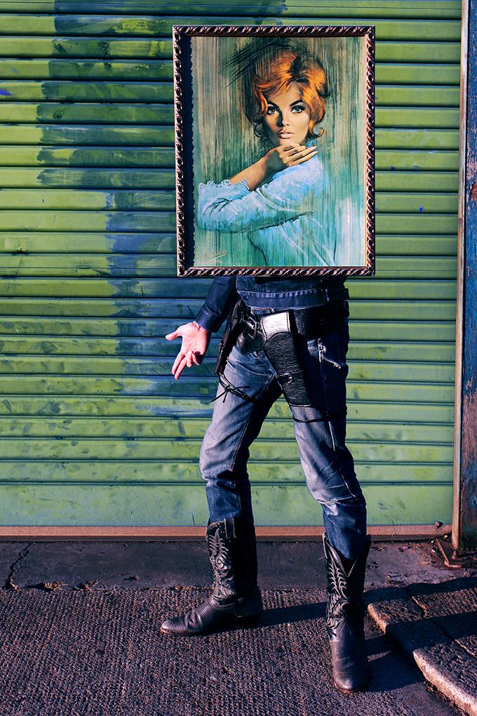 Art Drag Album (Nigel as Sara)