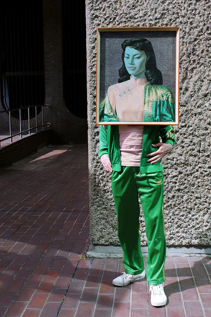 Art Drag Album (Nigel as Miss Wong)