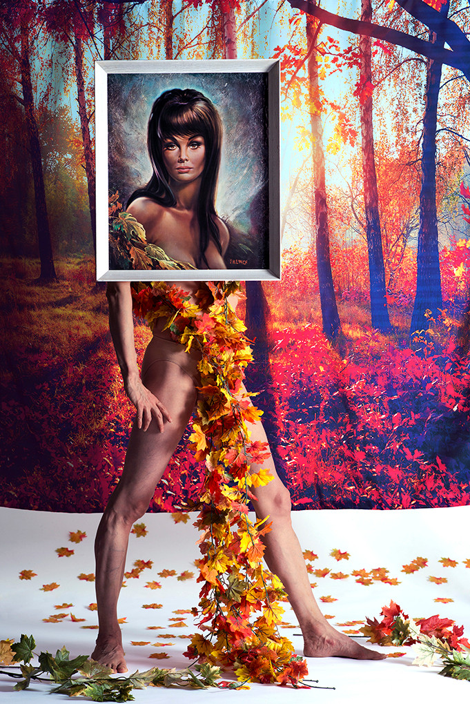 Art Drag Album (Nigel as Autumn Leaves)