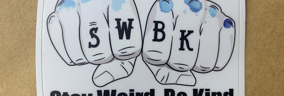 SWBK Knux Sticker