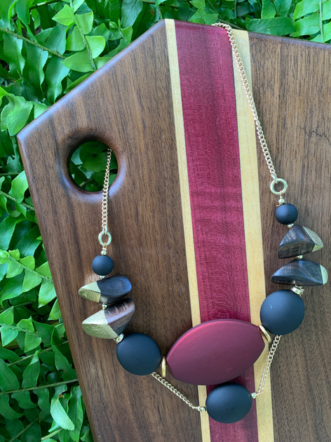 Matte Statement Necklace