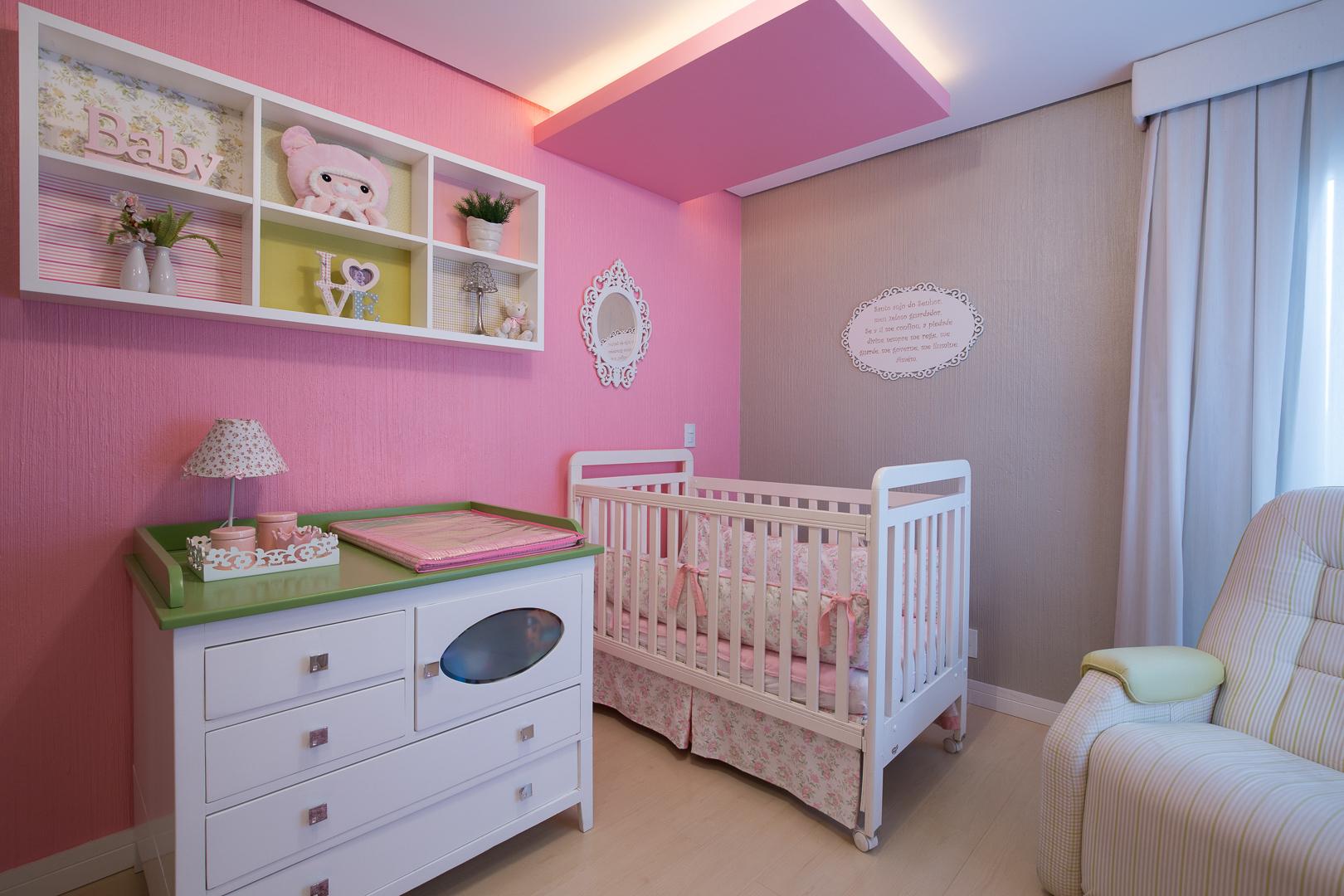 Dormitório do bebê - Jardim do Sol