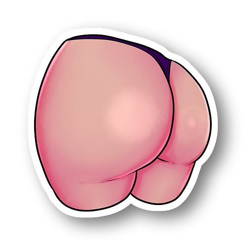 Thicc Booty Sticker