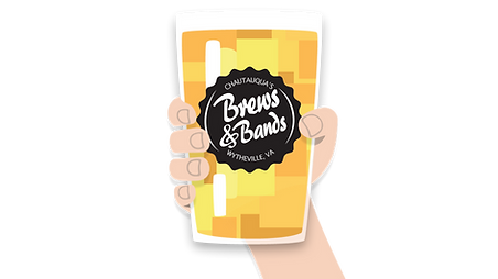 Brews & Bands Glass