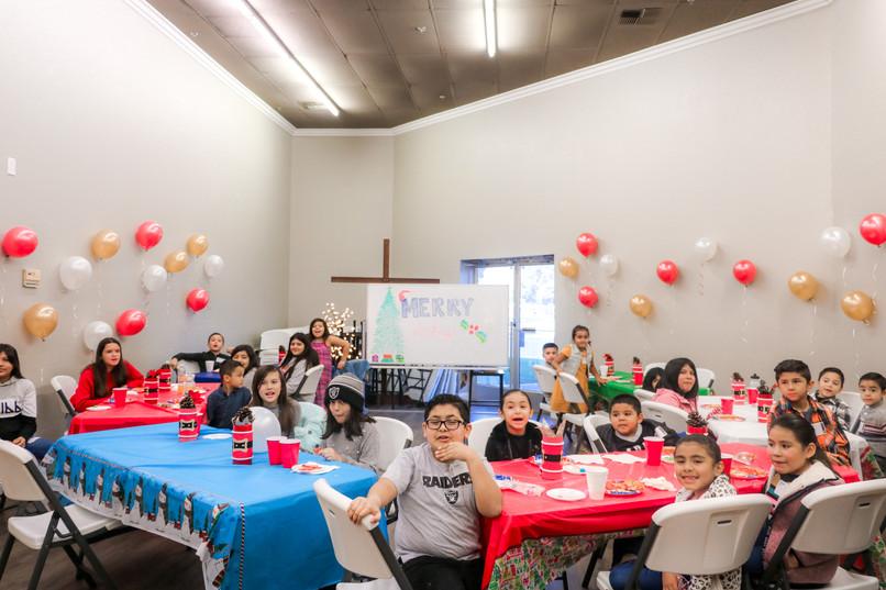 Christmas Party at Faith Church