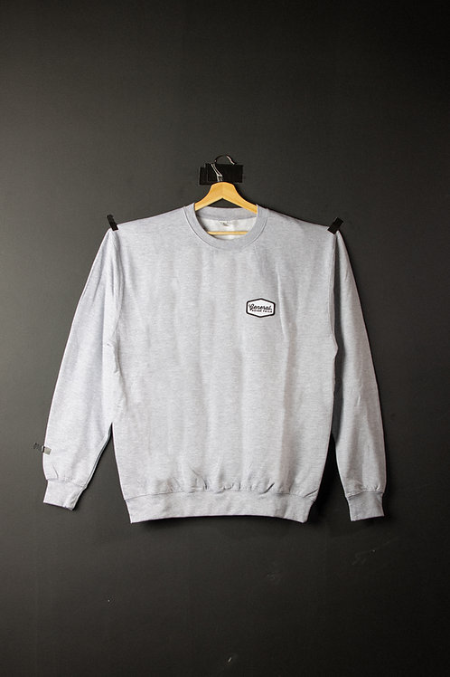 "General ""Never Fails"" Grey patch Sweatshirt"