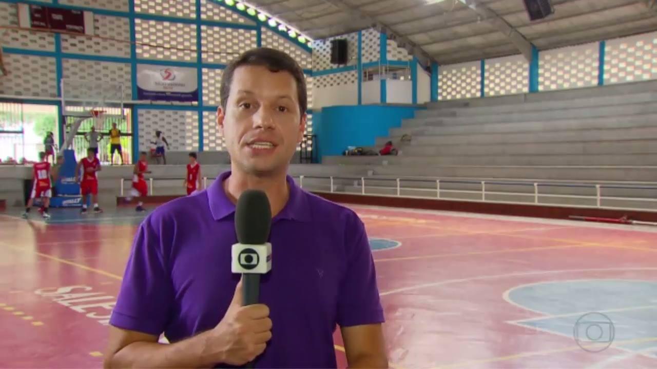 Matéria Brasileiro Basquete Escolar - Globo Esporte