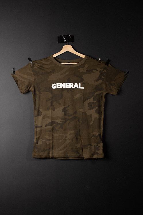 General Logo Camo Tee