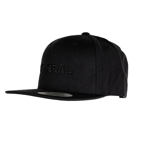 General Premium Snapback - All Black