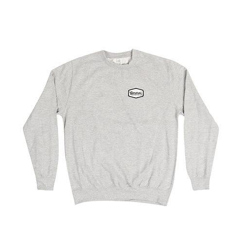 "General ""Never Fails"" Grey patch Sweatshirt"