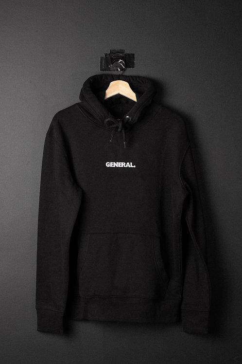 Premium General Black Hoodie